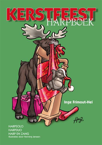 Kerstfeest Harpboek - Inge Frimout-Hei