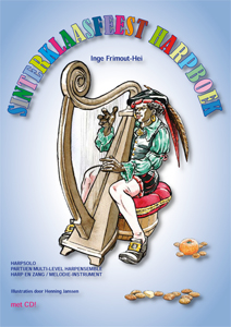 Sinterklaasfeest Harpboek - Inge Frimout-Hei