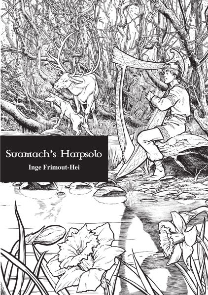 Suamach's Harp Solo <br />- from Flidias and the Magic Harp <br />- PDF Sheet music by Inge Frimout-Hei